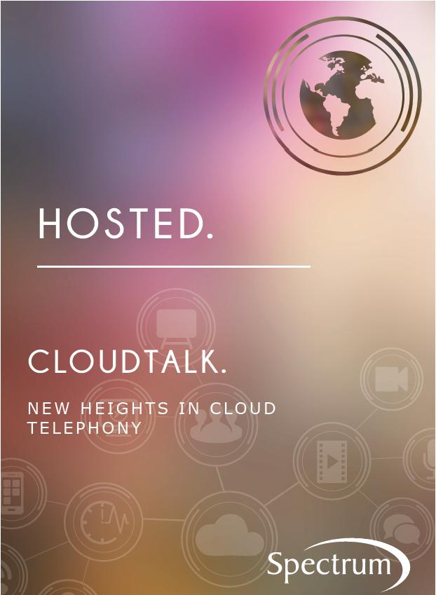 Spectrum CloudTalk Hosted Phone System Brochure