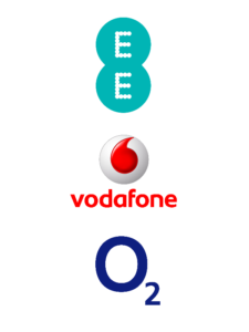 Our Managed Mobile Service can support EE, o2 & Vodafone